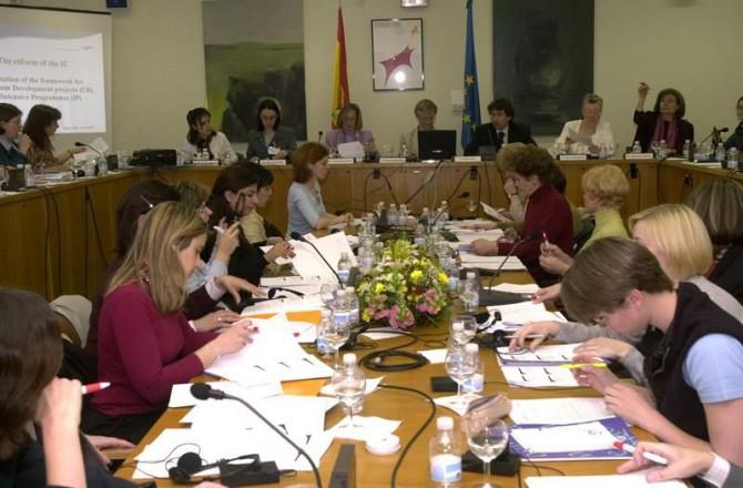 Reunión en el Consejo de Universidades de Madrid de directores de Agencias Nacionales Erasmus de la Unión Europea y de países asociados.