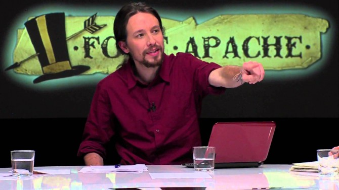 Fort Apache: el programa presentado por Pablo Iglesias en Hispan TV