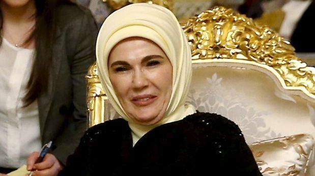 Emine Erdogan, la primera dama de Turquía, es una ferviente musulmana.