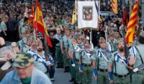 Las calles de Hospitalet fueron un clamor esta Semana Santa en favor de La LegiónFervor por La Legión en Cataluña.