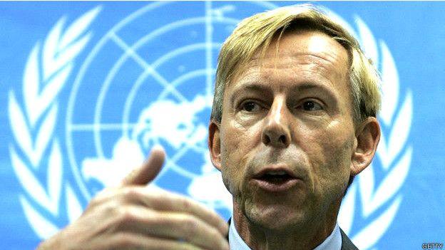 Anders Kompass fue suspendido temporalmente de su puesto por Naciones Unidas cuando, frustrado por la falta de medidas de la organización en la que trabajaba hacía cerca de 30 años, entregó a fiscales en Francia un documento confidencial de la ONU sobre las denuncias de abuso sexual.
