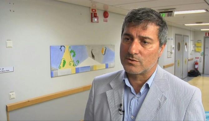 El cirujano Paolo Macchiarini el 7 de julio de 2011 en el Hospital Universitario Karolinska