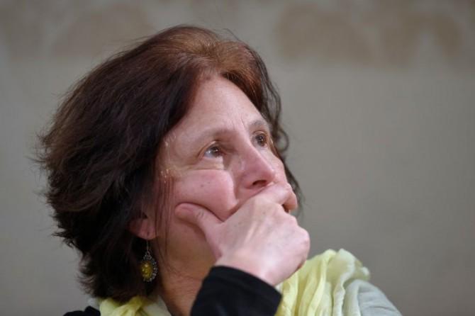 Paola Regeni, madre de Giulio Regeni, en rueda de prensa en el Senado italiano en Roma el 29 de marzo de 2016