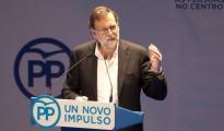 Mariano Rajoy, en Pontevedra.
