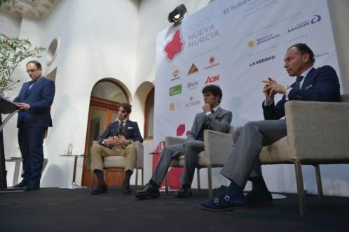 Los tres matadores de toros, en la apertura del Foro Nueva Murcia
