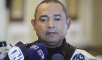 En la imagen, el ministro de Justicia y Seguridad de El Salvador, Mauricio Ramírez Landaverde.
