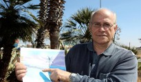 El director general de I+D+i de la empresa Okotion Green Energy, Antonio Ibáñez de Alba, un inventor ciudadrealeño que ha patentado un túnel de alta tecnología para ser instalado en zonas desérticas y facilitar el desplazamientos de trenes de alta velocidad evitando así los problemas de pueden encontrar en el desierto.