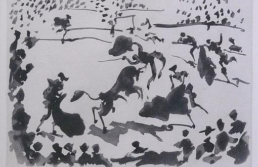 Picasso era un gran aficionado a los toros