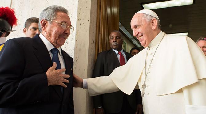 Cordialidad a la vista con Raúl Castro