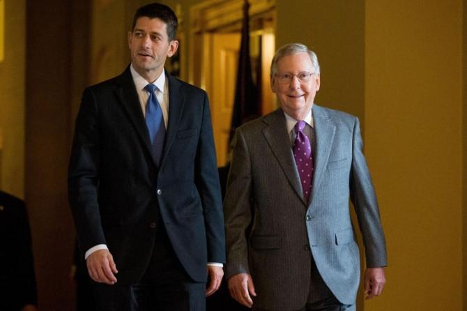 Los líderes de la Cámara de Representantes y del Senado, los republicanos Paul Ryan y Mitch McConnell, habrían estado presentes en Sea Island.