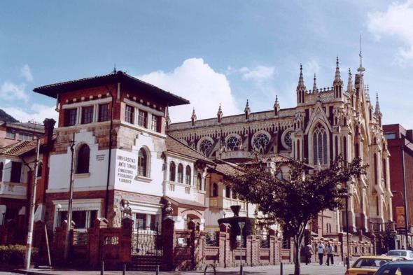 Universidad Santo Tomás, en Bogotá (Colombia)