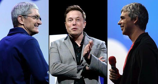 Tim Cook, Elon Musk y Larry Page se habrían reunido con republicanos para discutir cómo frenar la ola política de Donald Trump.