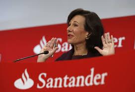La presidenta del Banco de Santander, Ana Patricia Botín