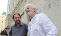 Pablo Iglesias y Xosé Manuel Beiras