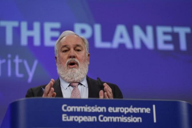 El comisario europeo de Acción por el Clima y Energía, Miguel Arias Cañete.