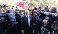 Imagen de archivo de Juan Cotino a su llegada al TSJ valenciano