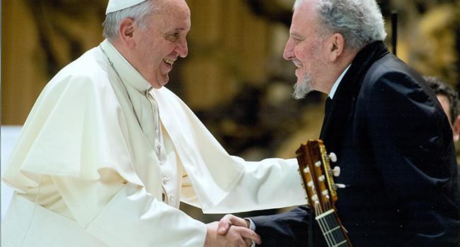 Kiko Argüello y el Papa Francisco