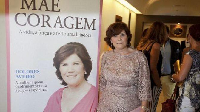 Dolores Aveiro, durante la presentación de su libro.