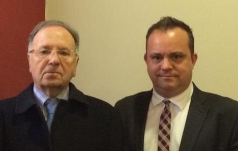 Miguel Bernad y Robert Hernando