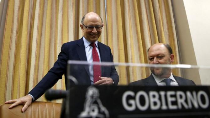 El ministro de Hacienda y Administraciones Públicas en funciones, Cristóbal Montoro.