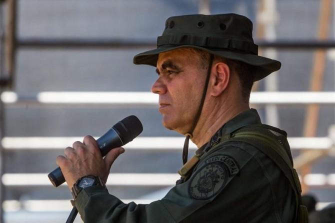 El ministro de Defensa de Venezuela, el general Vladimir Padrino López.