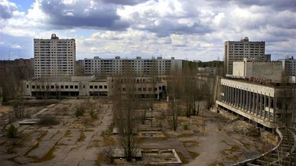 La ciudad abandonada de Pripyat, que había sido creada para albergar a los trabajadores de la central nuclear. Era para la elite de la elite. Aún está abandonada.