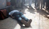 "Imagen del profesor universitario bangladesí que murió hoy después de que dos hombres le atacaran con ""armas punzantes""."