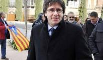 En la imagen, el presidente de la Generalitat, el independentista Carles Puigdemont