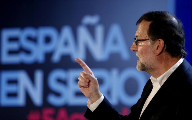 El presidente del Gobierno en funciones y líder del PP, Mariano Rajoy.