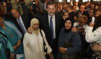 Mariano Rajoy, acompañado de mujeres musulmanas.