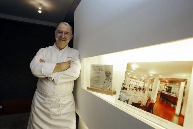 El cocinero Pedro Subijana