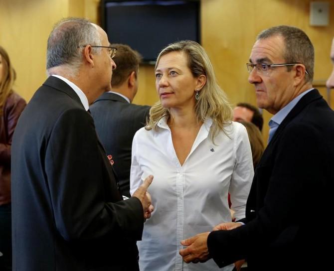 La diputada de Podemos Victoria Rosell en la Comisión de Justicia del Congreso.