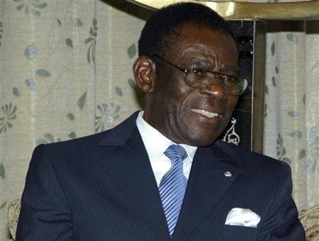 Teodoro Obiang, presidente de Guinea Ecuatorial