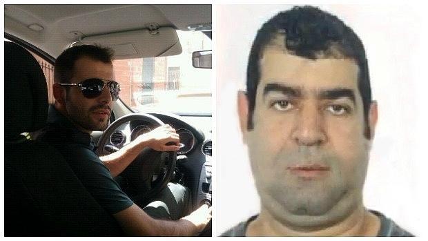 A la izquierda, el guardia civil encarcelado; a la derecha, el marroquí que ppretendió huir del lugar del accidente.