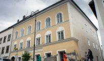 La casa donde vivió Adolf HItle en Braunau Am Inn, Austria