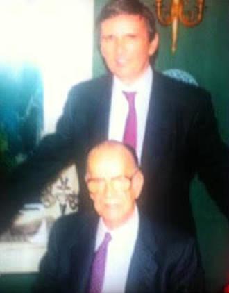 Roberto Centeno con Cela el día que recibió el Nobel.
