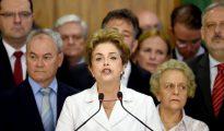 El discurso final de Dilma Rousseff como presidente de Brasil.