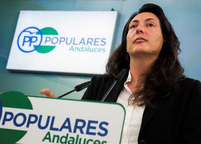 La número dos del PP andaluz, Dolores López.