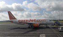 Un avión de la aerolínea de bajo coste Easyjet.