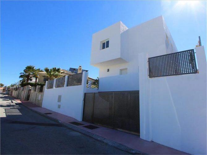 Urbanización El Faro, en Mijas, donde ocurrieron los hechos.