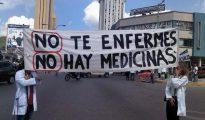 La falta de fármacos se ha vuelto endémica en Venezuela, espejo ideológico de Podemos.