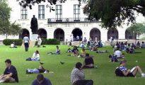 Estudiantes de la Universidad de Texas