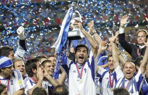Grecia ganó la Eurocopa 2004 contra todo pronóstico.