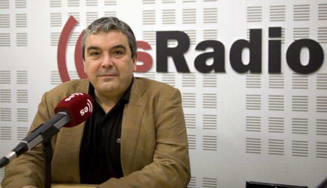 """Esteban Ibarra, del Movimiento contra la Intolerancia, """"mudo y ciego"""" tras la nota incendiaria de Arran."""
