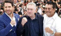 Edgar Ramírez, Roberto Durán y Robert De Niro alzaron los puños en Cannes