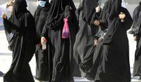 Mujeres saudíes.