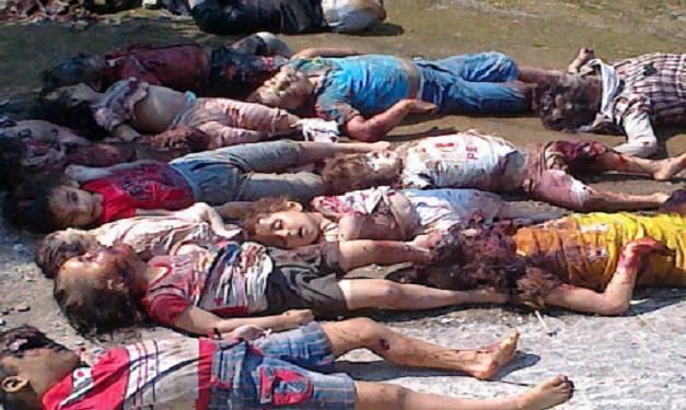 Masacre de niños cristianos en Siria.