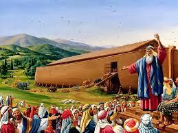 Noé predicó a los malvados antes del diluvio, pero se mofaron de él.
