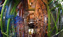 Trabajos de mantenimiento en el Gran Colisionador de Hadrones, el 19 de julio de 2013, en Meyrin, Suiza