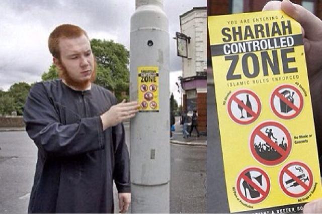 En Reino Unido proliferan ya las zonas de exclusión islámicas.